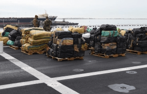 20,000 Pounds Of Cocaine, Marijuana Worth $211 Million Seized From International Waters Offloaded In San Diego