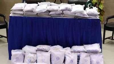 Pakistan: ANF Seizes 2153.166 Kgs Narcotics Valuing US $ 59.520 Million Internationally