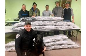 NY: $400,000 worth of marijuana seized from inbound flight to Buffalo