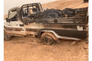 Turkish army destroys drug-laden vehicle on border with Syria