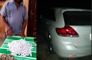 Nigerian  police arrest a 50-year-old drug dealer, Lucky Okpoko