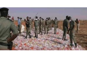 Interpol seizes 17 tons of hashish heading towards Libya !