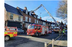 UK: Cannabis factory found at Hereford house after chimney fire