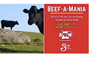 Hemp-finished beef….. is the thing