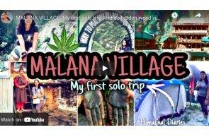 Malana Village- My first solo trip | India's hidden weed village | Kasol, Himachal Pradesh