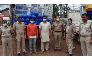 India: Cannabis worth Rs 1.1 crore seized from Delhi-bound oxygen carrier in Odisha