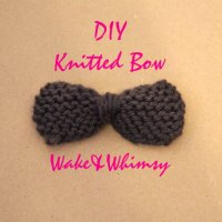 The Knitted Bow
