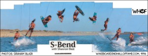 Shannon Best S-Bend Sequence Wakeboarding Magazine WHOF Interview