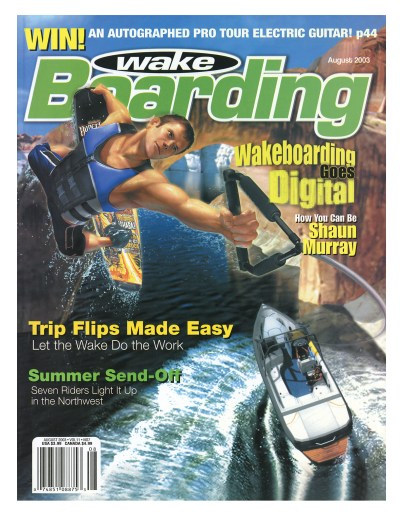 shaun murray video game cover wakeboarding magazine