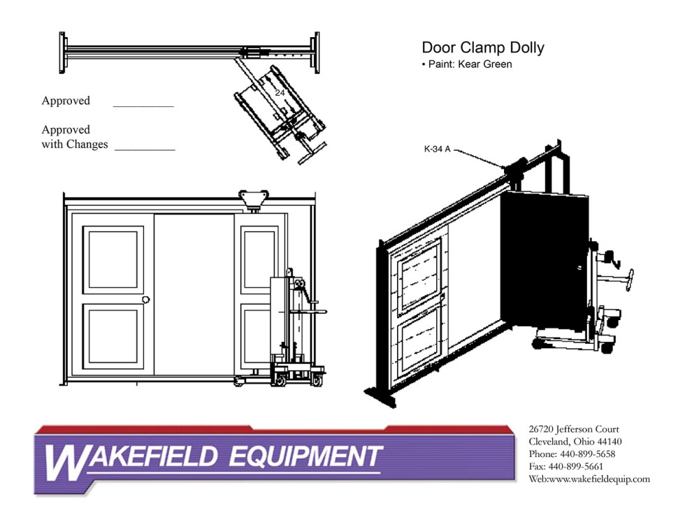 Assembly Rack – Door Clamp