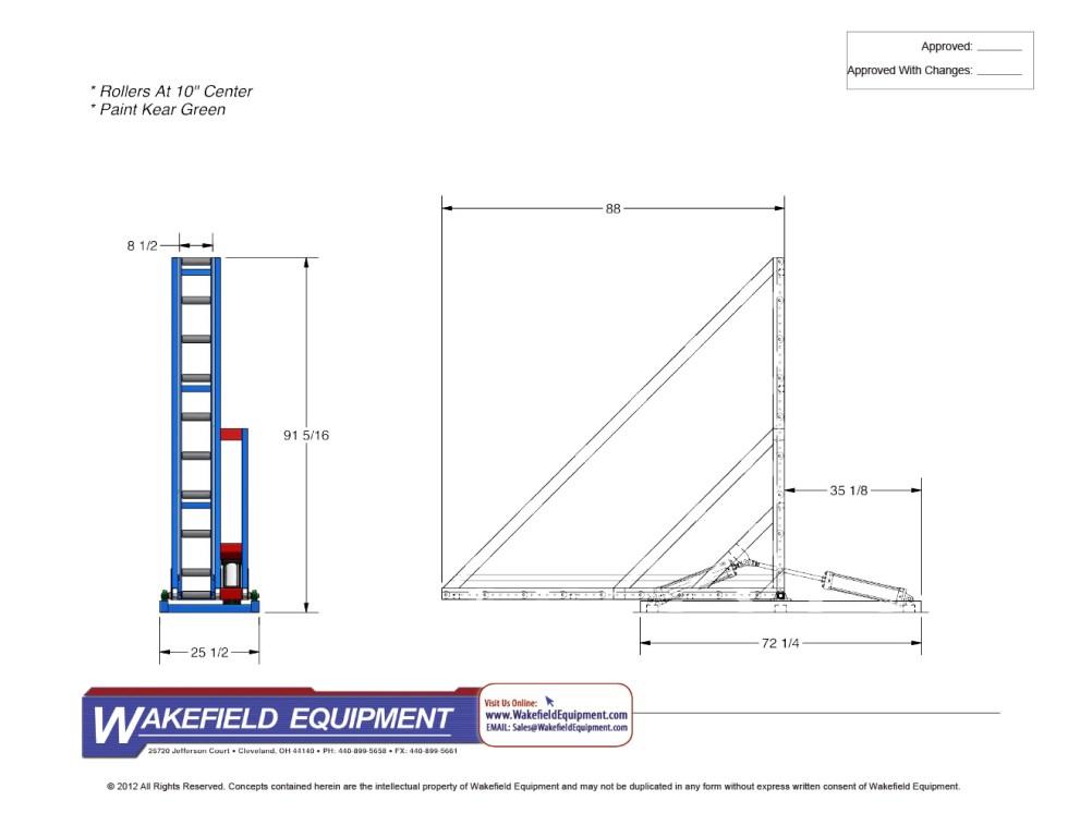 Rotator Conveyor 1 CAD