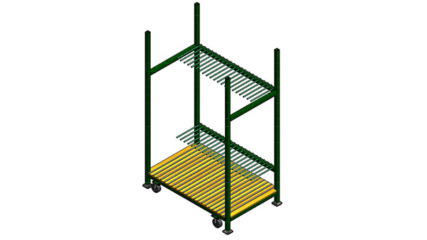 Storage Rack for Patio & Shower Doors