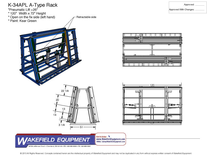 Double-Sided Assembly Rack CAD