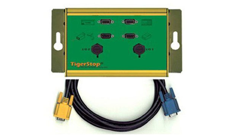 #I/O PANEL – TigerStop Communication Panel