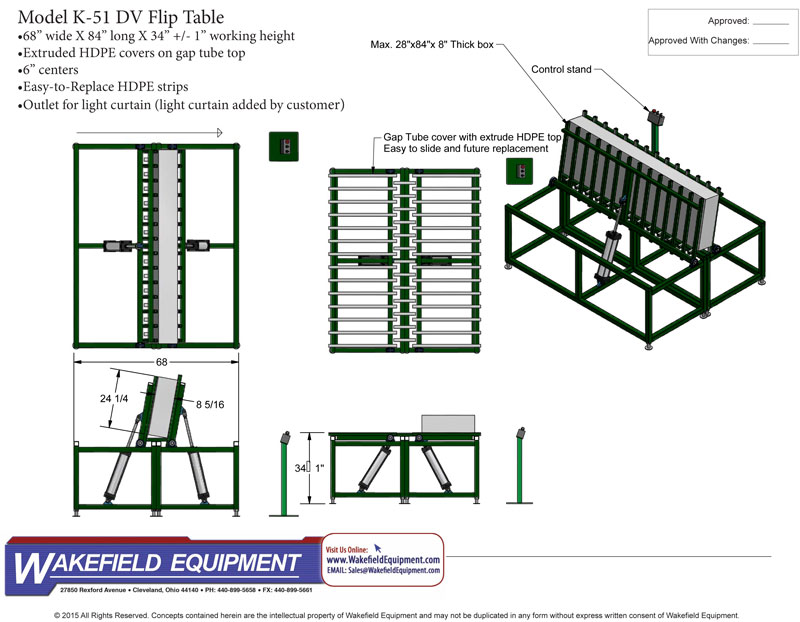Door Flip Table & Conveyor