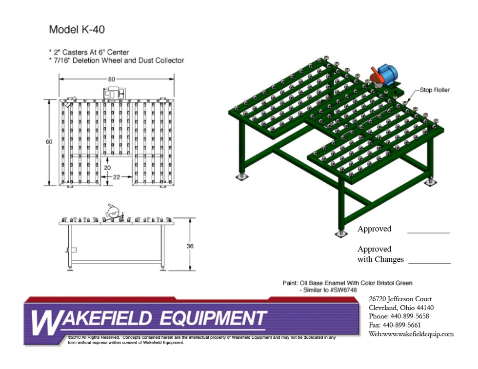 Edge Deletion Table CAD