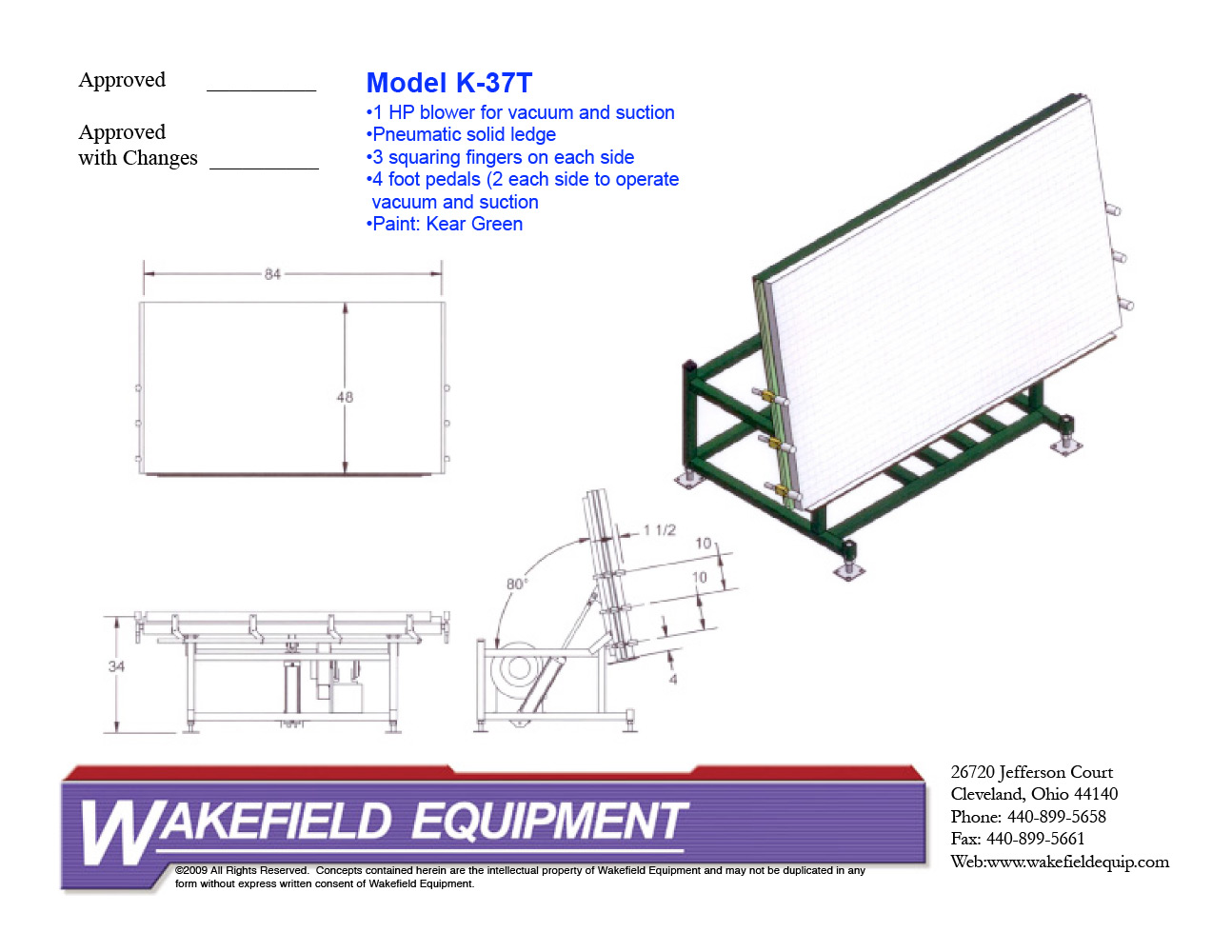 Flexible Spacer Application Tables Wakefield Equipment