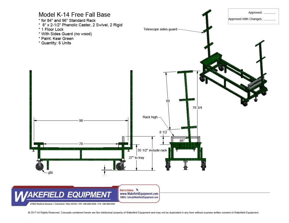 Free Fall Base CAD 4