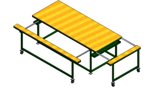 Horizontal Work Tables