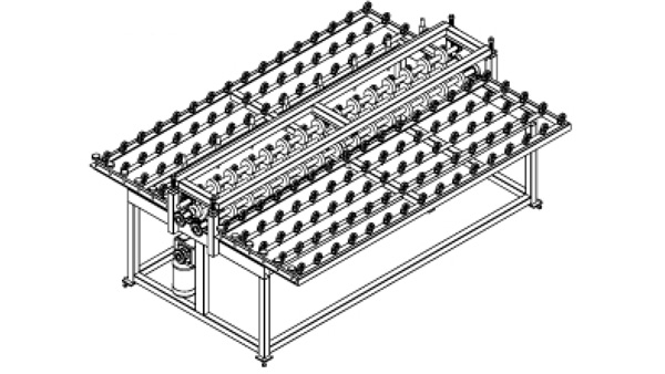 One Directional Glass Cutting Table