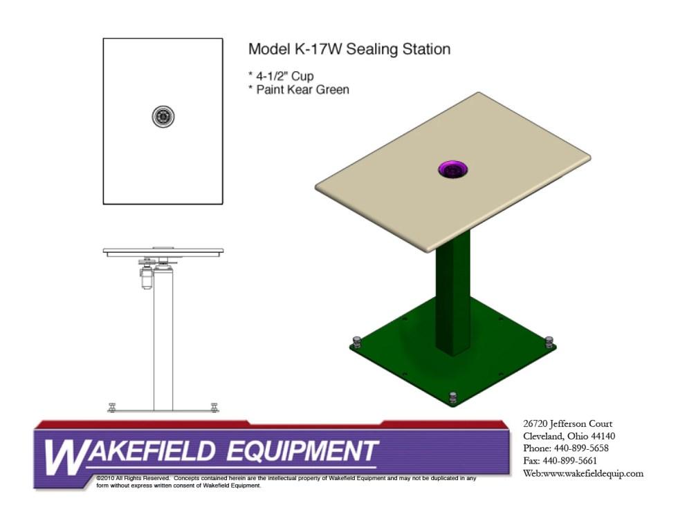 Sealing Table Platform CAD
