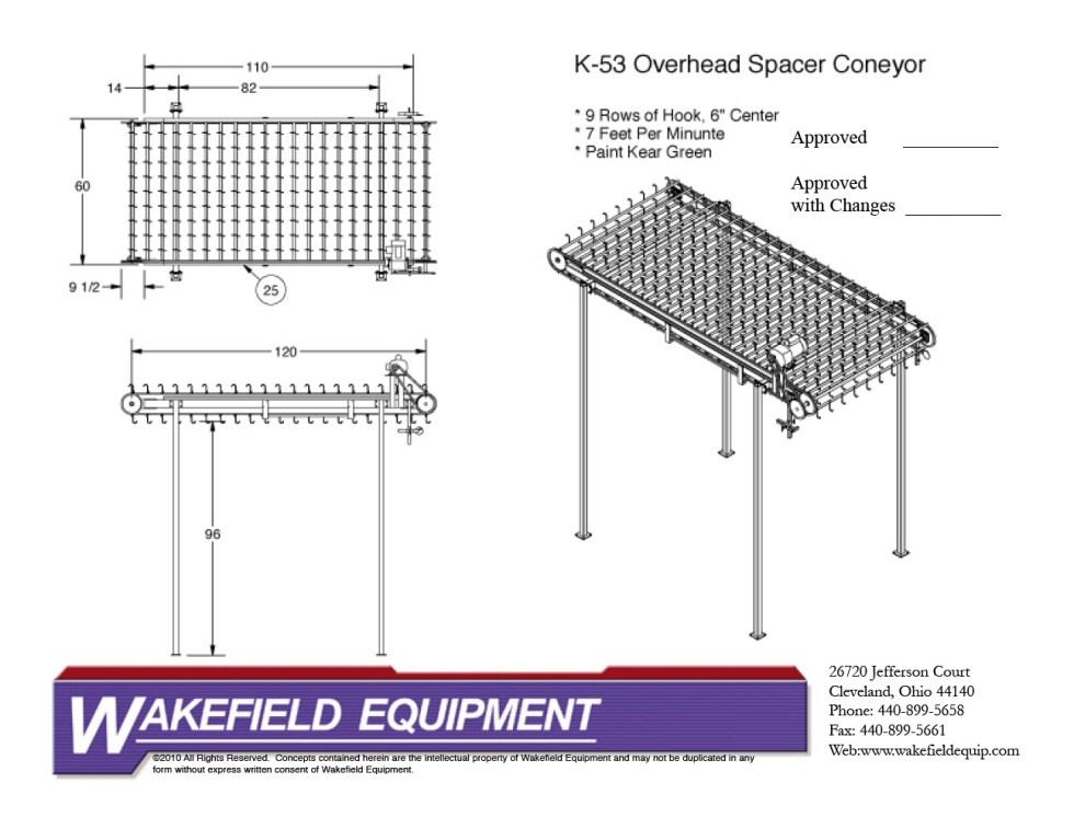 Stationary Spacer Conveyor