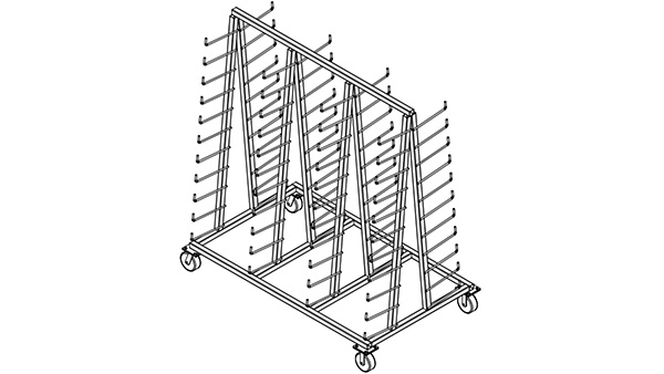 Tree Type Extrusion & Frame Dolly