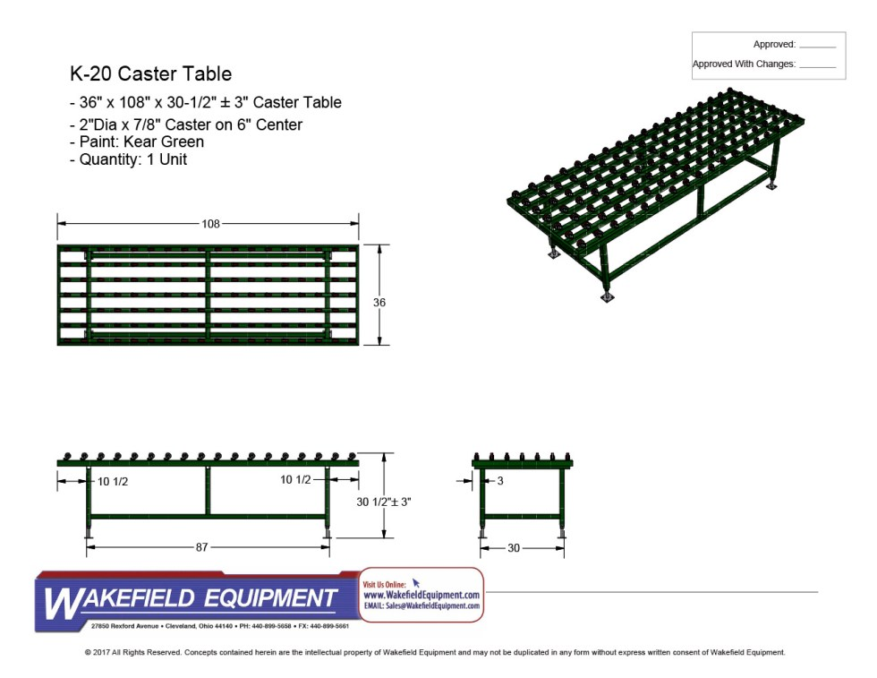 Caster Table New 02