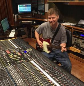 Jeremy at music board