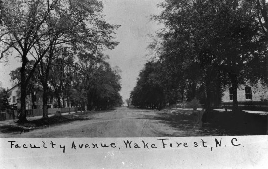 Very Old Faculty Avenue