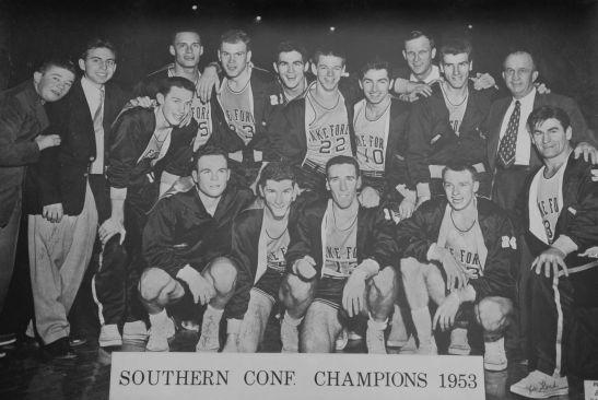 1953 Basketball Champs