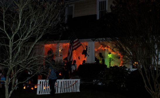 Halloween  on N. Main Street