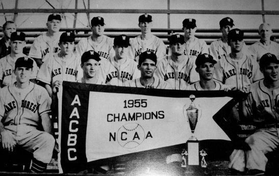 1955 NCAA Baseball Champs