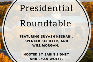 Special Edition: Student Government Presidential Roundtable
