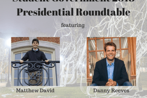 2018 Student Government Presidential Roundtable