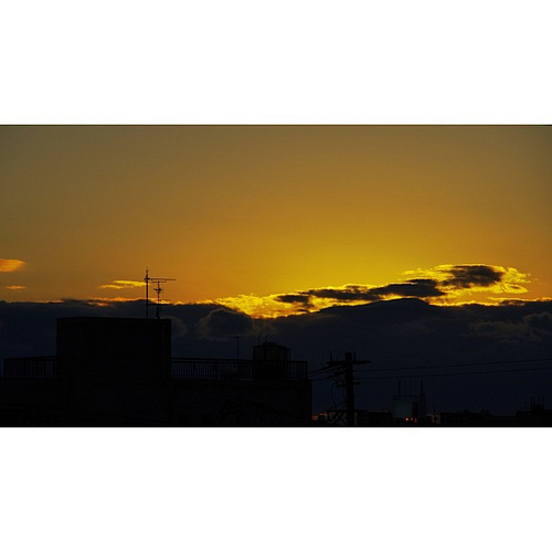 夕暮れ… by PENTAX K-5 with DA 18-135WR