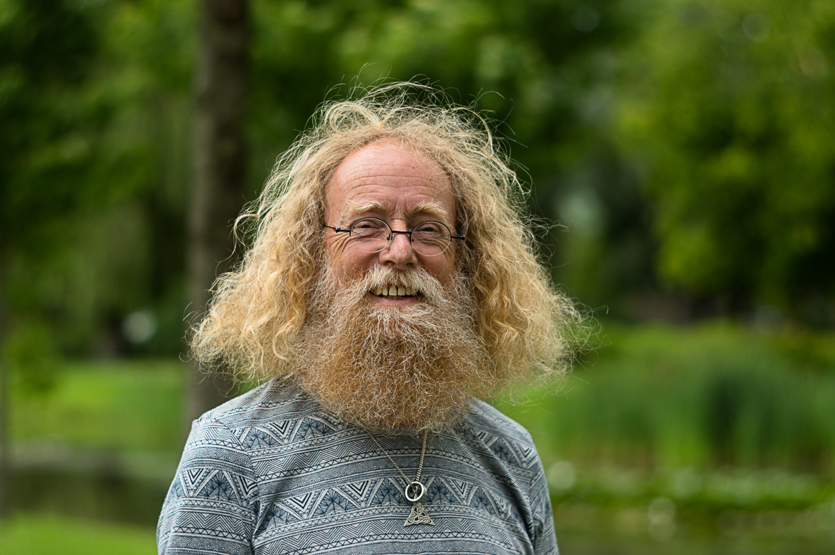 Peter in het portret van Drachten door fotograaf Jeffrey Wakanno