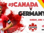women's soccer Canada v Germany