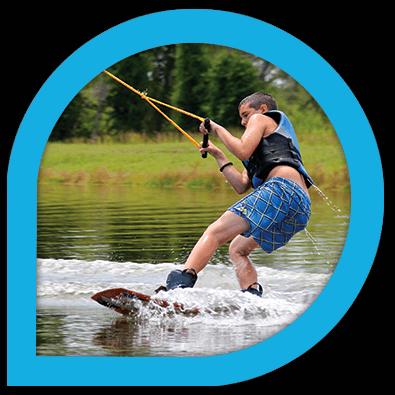 cours, stage, initiation, perfectionnement au wakeboard et ski nautique - Wake Park Plessé