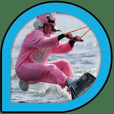 EVG EVJF anniversaire cousinade essayez le frisson de la glisse sur l'eau
