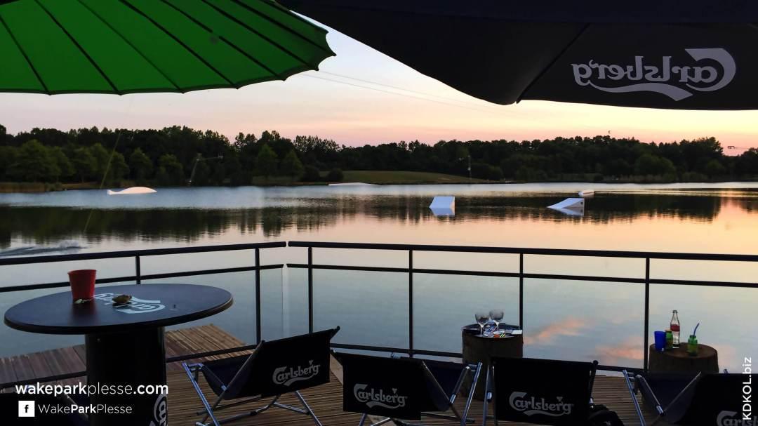 Wake Park Plessé - Offrez vous un couché de soleil sensationnel et faites palpiter vos prunelles - Etang de Buhel