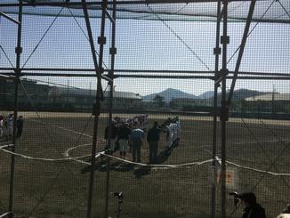 今シーズン初の高校野球観戦