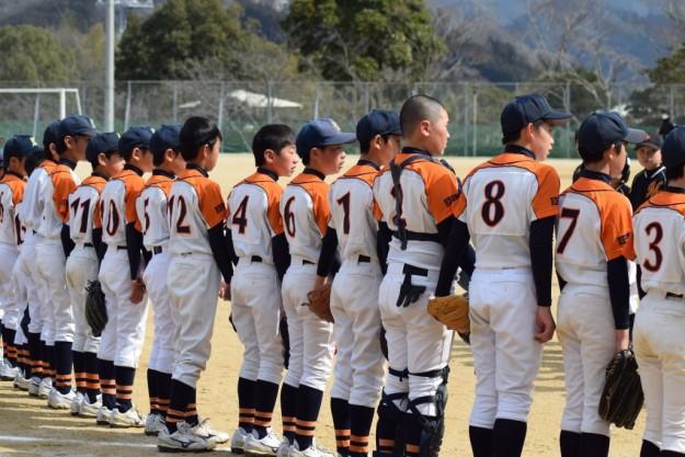 松山城西-宇和(宇和ボーイズ創立40周年記念大会予選リーグ)