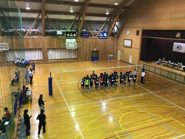 平成29年度中学校総合体育大会・南予ブロック団体戦の結果