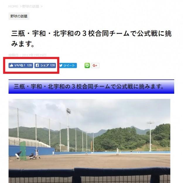 平成29年度高校野球南予地区の新人戦・秋季大会予選はどうなるのか?