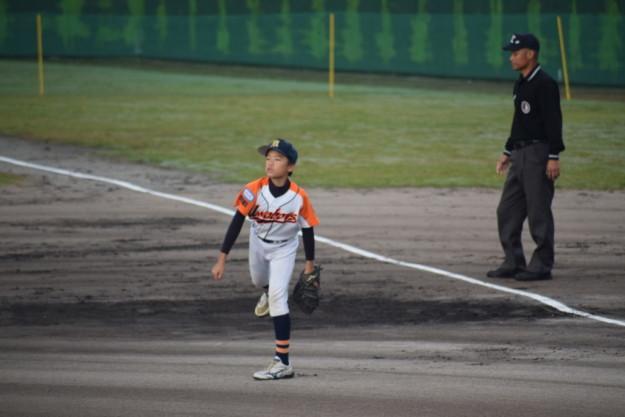 第9回ボーイズリーグ秋季中四国大会1回戦でのマルコメ1号