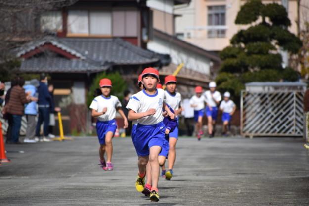 マルコメ隊、校内マラソン大会でそれぞれ頑張りました!