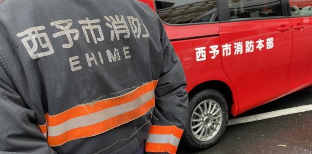 自宅の近くに消防車が来てますよと言われて、慌てて自宅に帰ってみると