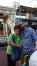 Jake and our mom Vera at Disney World