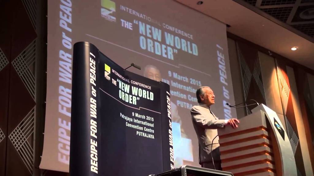 Understanding The New World Order - The Who, What, How and Why - Dr. Mahathir Mohammad, former Prime Minister of Malaysia